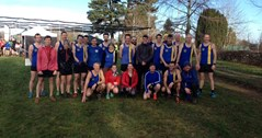 Senior athletes in Cross Country Success