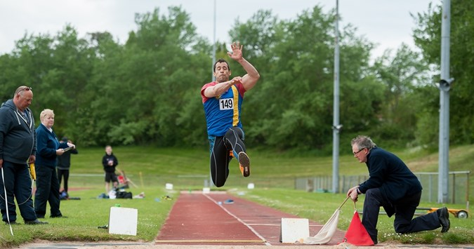 Club success at County Track & Field Championships