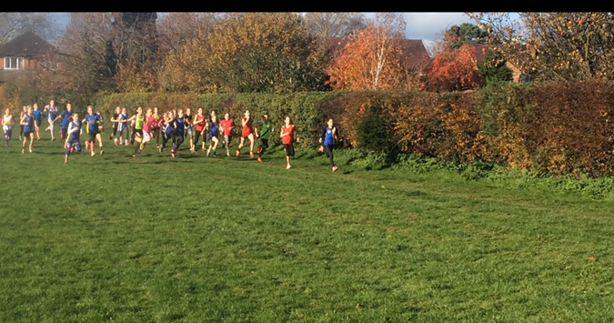 Shropshire Young Athletes League cross country