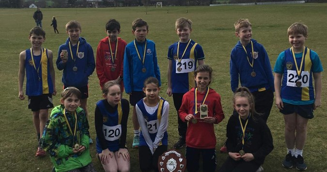 Results for U11 County Championships at Concord College on 23rd March